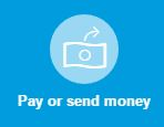 Pay or send money